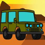 Offroad Coloring Book
